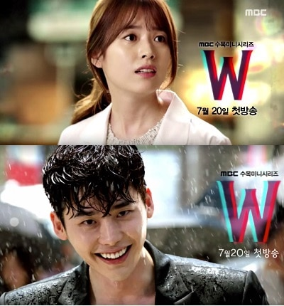 Also Known as: W – Two Worlds Genre: Romance, Melodrama, Suspense Episodes: 16 (To Be Confirmed) Broadcast network: MBC Broadcast period: 2016-Jul-20 to ...