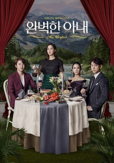 two wives korean drama full cast